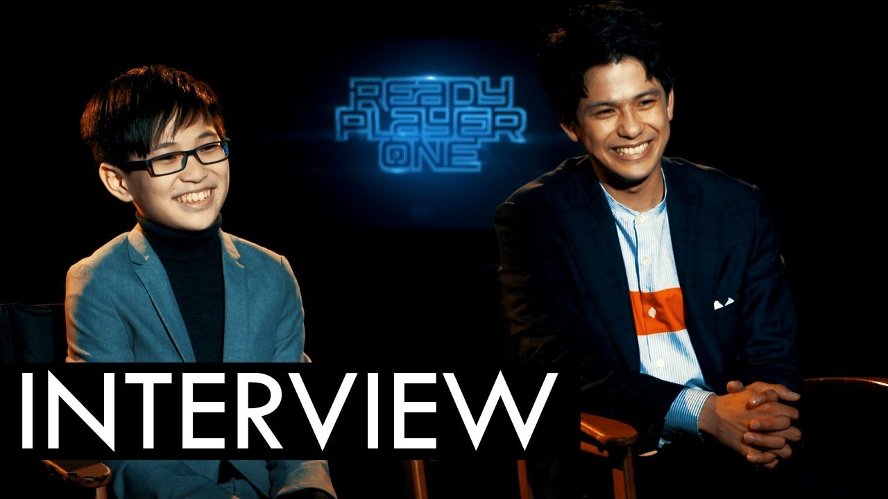 READY PLAYER ONE Interviews: W...