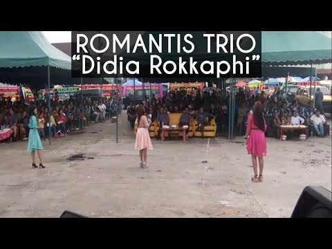 Romantis Trio - Didia Rokkaphi (Live) Sidikkalang