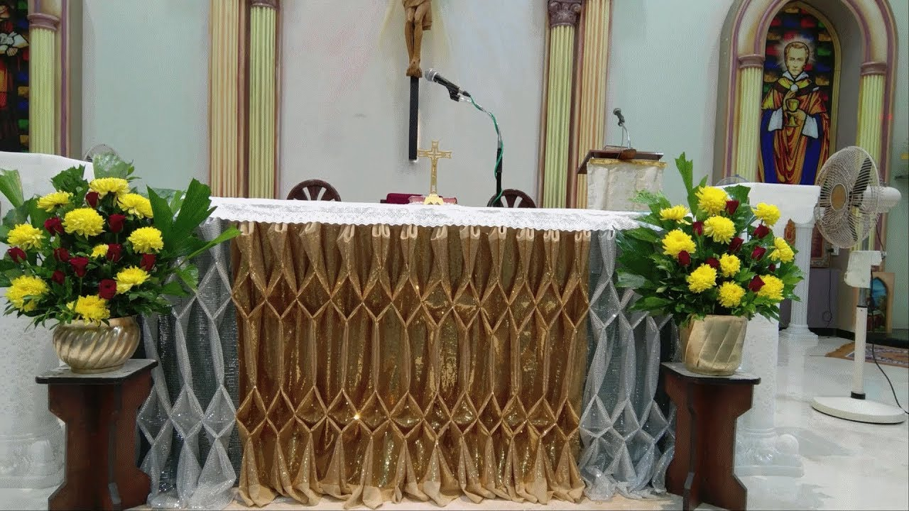 Church Altar Decoration