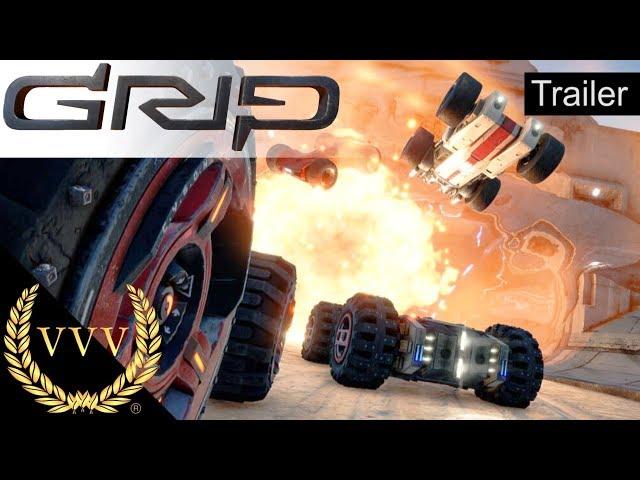 GRIP: Combat Racing - Fall Release Trailer