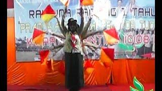 SEMAPHORE DANCE TERBAIK 1 PUTRI RAIMUNA RANTING I