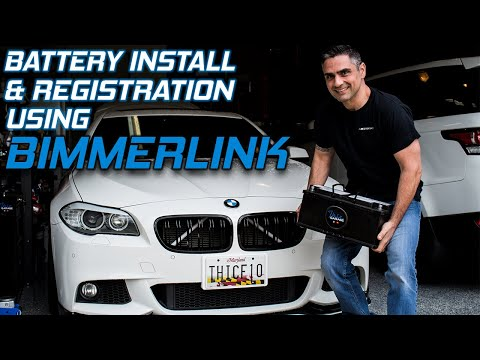 How To: BMW Battery Replacement & Register w/BimmerLink DIY