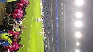 Calvert-Lewin 3-0 Everton vs Cardiff.