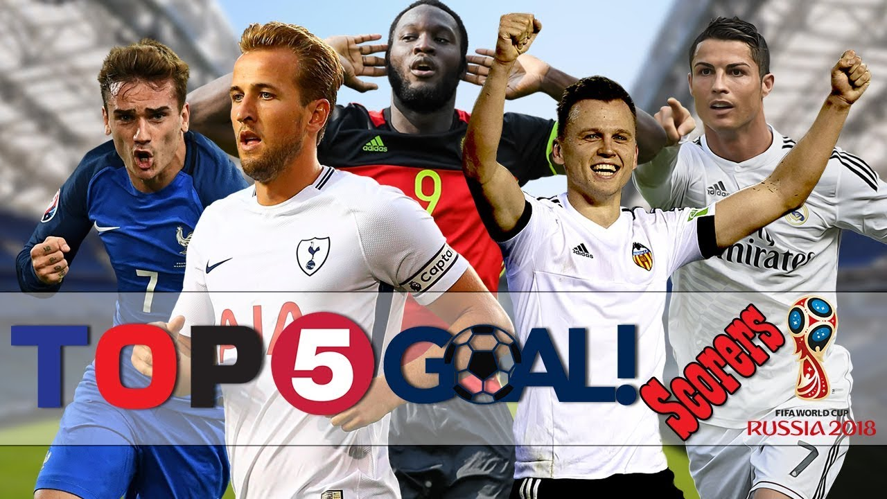 Top 5 Goal Scorers in Fifa World Cup 2018 | Best Goal Scorers in Fifa World  Cup 2018 | Golden Boot