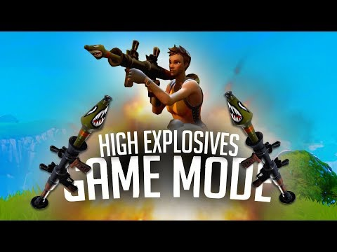 NEW HIGH EXPLOSIVES MODE! *ROCKET WARS!* | Fortnite Battle Royale Funny Moments