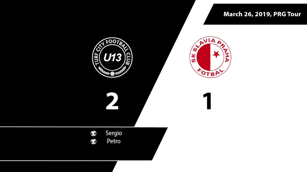 U13 TCFC Vs Slavia Prague YouTube