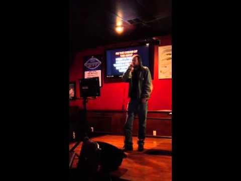 Karaoke Jesus at Sports Page