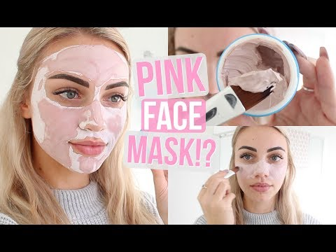 SAND AND SKY PINK CLAY FACE MASK // Review & Demo