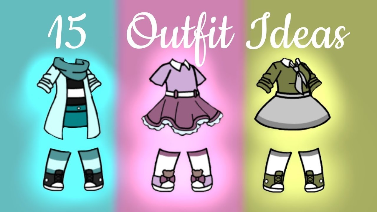23 Outfit ideas for Girls + decide my OCs new Outfit