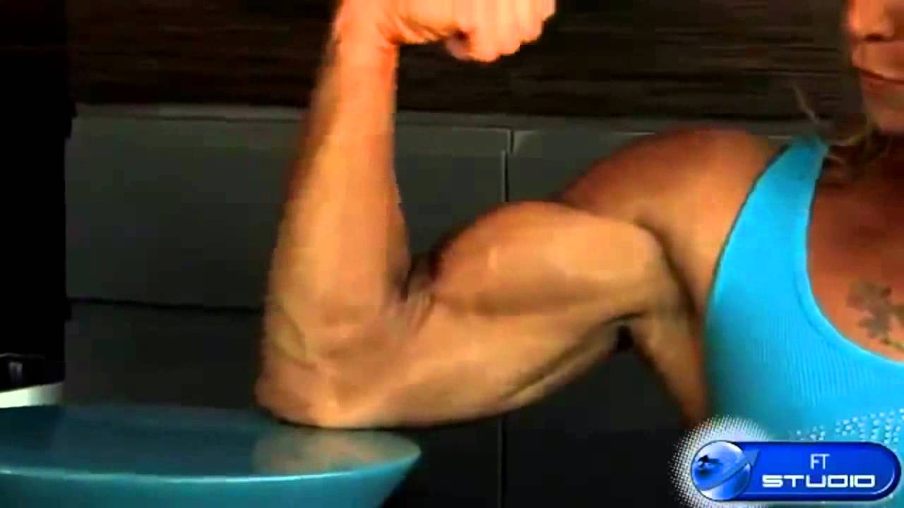 female bodybuilder super perfect body workout to build muscle, Muscles