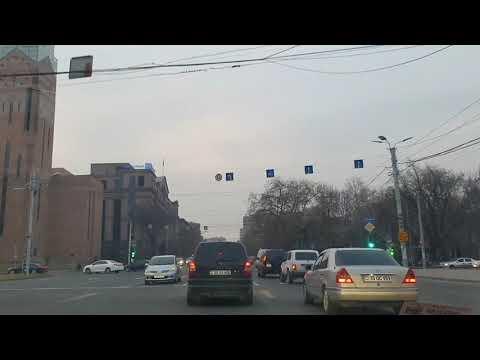 Ереван сегодня / Прогулка по городу в машине / Музыка