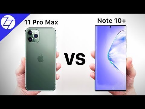 iPhone 11 Pro Max VS Samsung Galaxy Note 10 Plus