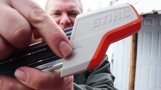 STUPID-EASY Chainsaw Sharpener! (Ladies, Kids, Everyone will LOVE IT!)