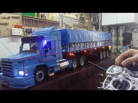 Scania 113 Primeiros testes