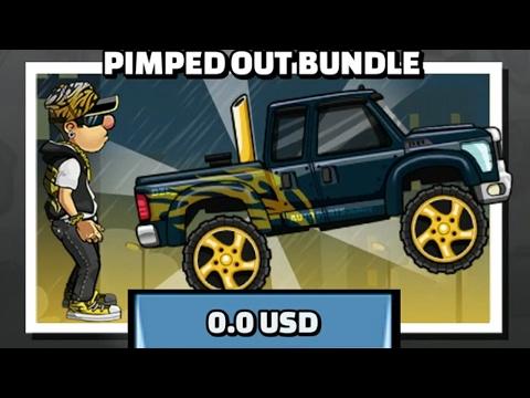 Hill Climb Racing 2 Super Diesel Pimped Out Bundle - Hack Apk # Unlimite Coin$ And Gem$