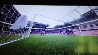 Andy Carroll winning goal v everton fa cup semi-final 86th