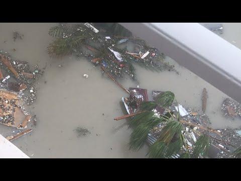 Irma destroys St. Maarten- sailing mischief