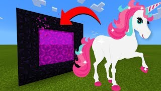 Gambar cover How To Make A Portal To The Unicorn Dimension in Minecraft!
