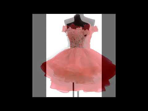 elegant-pink-cocktail-dresses-asymmetrical-side-long-short-party-lace-sequin-tulle-dresses