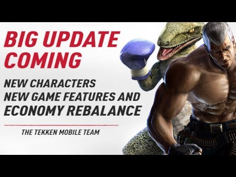 WE ARE GETTING 2 NEW CHARACTERS TEKKEN MOBILE  !  