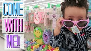 Come with Me to Dollar Tree! Pastel Bins! Spring Decor + More!