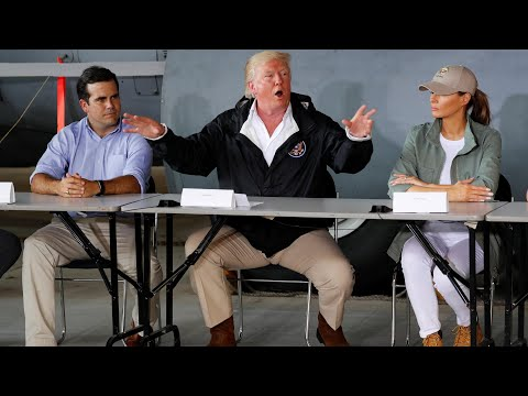 'You've thrown our budget a little out of whack', Trump tells Puerto Rico