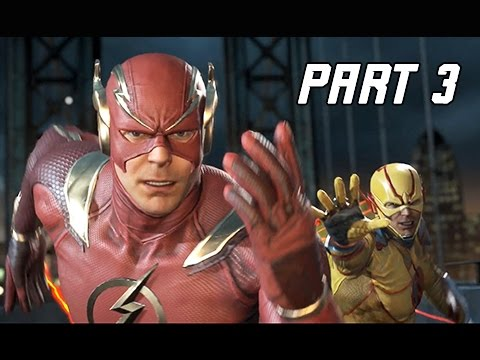 INJUSTICE 2 Walkthrough Part 3 - FLASH - Invasion! (Story Mode Let's Play Commentary)