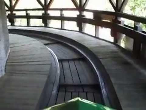 Hochschaubahn (Prater Park) Vienna.