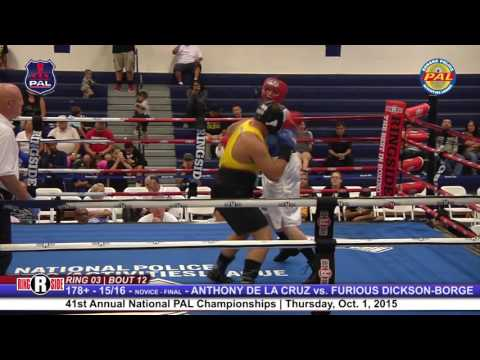 41st Nat. PAL Boxing Tournament | ANTHONY DE LA CRUZ vs. FURIOUS DICKSON - BORGE