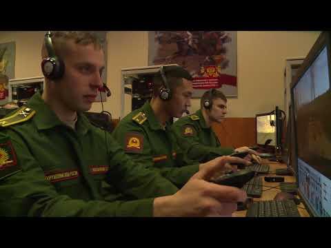 Будни курсантов Московского высшего общевойскового командного училища