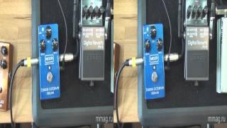 mmag.ru: Педали эффектов для бас-гитаристов 3d видео обзор