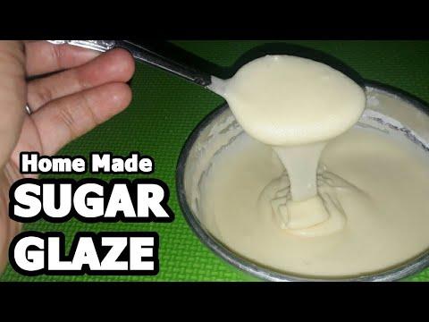 SUGAR GLAZE RECIPE | Home Made Sugar Glaze | FOR DONUTS AND CAKES,CUPCAKES | Step By Step