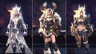 MHW Iceborne | All Female Master Rank Armors