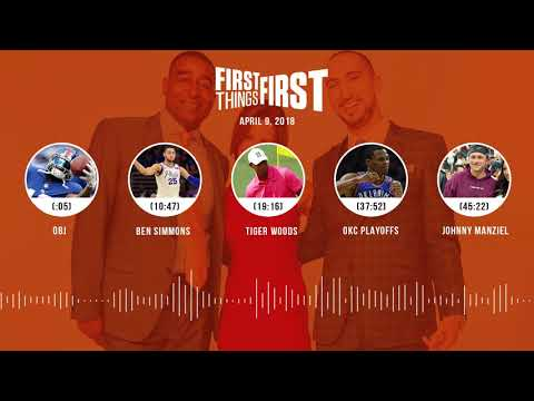 First Things First audio podcast(4.9.18) Cris Carter, Nick Wright, Jenna Wolfe | FIRST THINGS FIRST