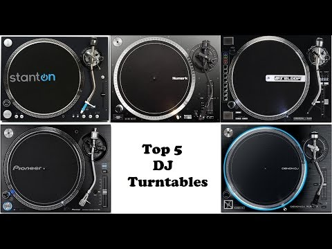 Top 5 Professional DJ Turntables of 2018 Mp3