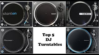 Top 5 Professional DJ Turntables of 2018