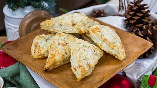 Apricot and Blue Cheese Scones - Home & Family