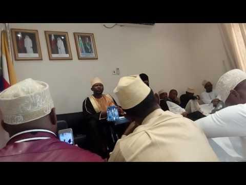 Parole Ambassadeur des Comores Au Qatar  dans la rencontre avec la communauté Comorienne