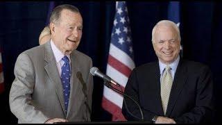 Whitewashing of Heinous Figures like John McCain & George HW Bush