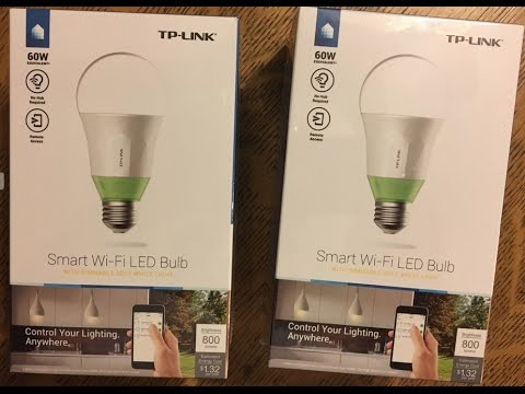 Tp Link Smart Wi Fi Led Light Bulb Lb110 Works With Amazon