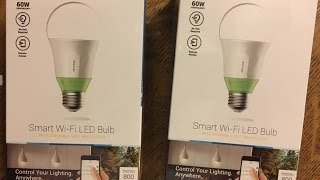 TP-Link Smart Wi-Fi LED Light Bulb LB110 Works with Amazon Alexa