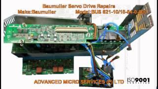 baumuller bus 621 10 15 54 0 000 servo drive repairs advanced micro services pvt ltd