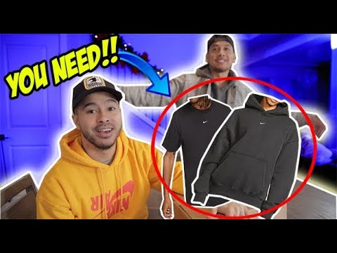THE BEST HOODIE & TEES FROM NIKE THIS YEAR! (DON'T SLEEP)
