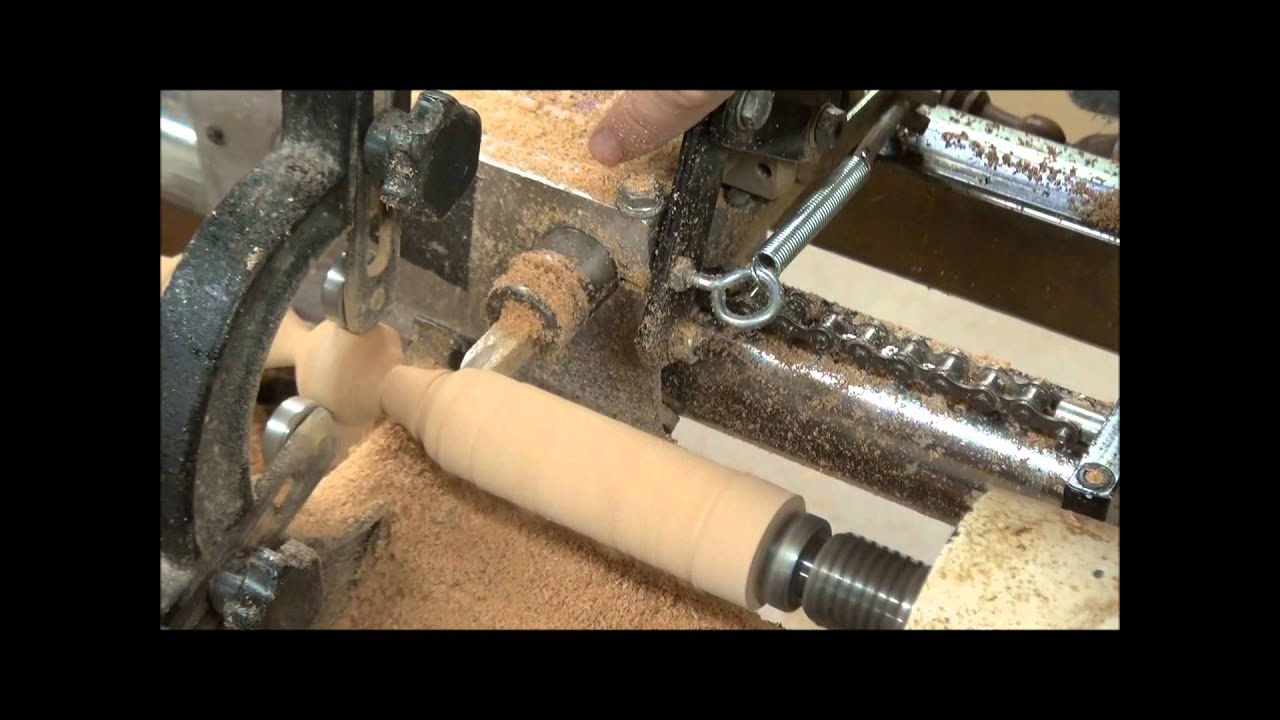 Vega Duplicator Wood Lathe Demonstration Youtube