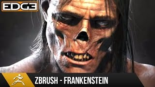 Zbrush Speed Sculpt Tutorial - Frankenstein Monster Character HD by Jay Hill