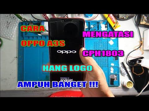 Memperbaiki hp Oppo A3s yang mati di logo kedua/ tidak mau masuk menu/ gagal booting,oke simak video.