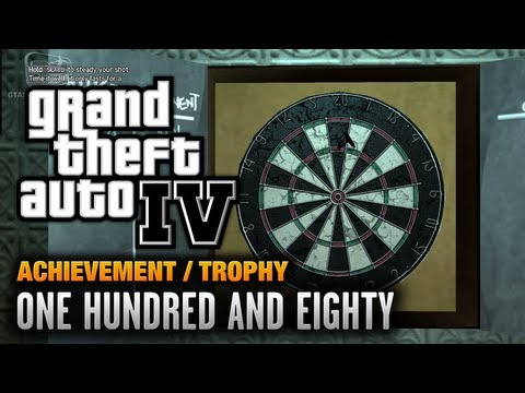 GTA 4 - One Hundred And Eighty Achievement / Trophy (1080p)