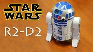 МОДЕЛЬ R2-D2 СВОИМИ РУКАМИ