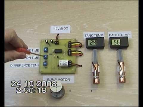 DIY Solar Hot Water System Controller