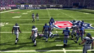 Madden NFL 12 Seahawks Franchise | [Y1G5] One-Two Punch